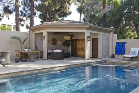 Manhattan Beach Pool with Outdoor Living Room 1