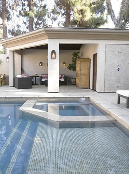 Manhattan Beach Pool with Outdoor Living Room 2