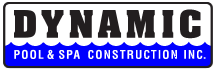 Logo of Dynamic Pool & Spa Construction Inc Southern California Pools and Outdoor Living